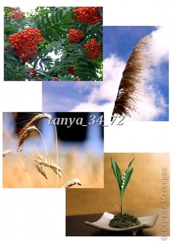МК (развернутый и дополненный) Флористический коллаж в технике терра фото 9
