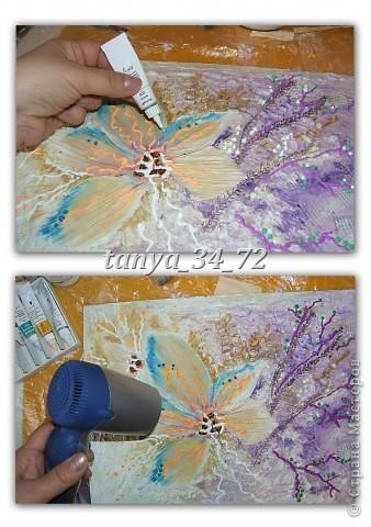 МК (развернутый и дополненный) Флористический коллаж в технике терра фото 11