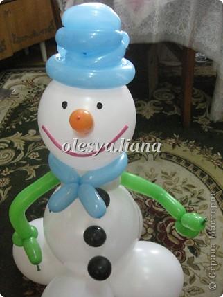 Меня попросили сделать снеговика для церкви - как бы благотворительность в своем роде и вот что получилось! фото 2
