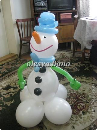 Меня попросили сделать снеговика для церкви - как бы благотворительность в своем роде и вот что получилось! фото 3