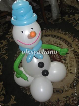 Меня попросили сделать снеговика для церкви - как бы благотворительность в своем роде и вот что получилось! фото 4
