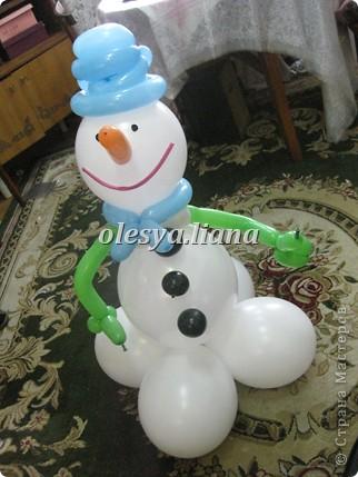 Меня попросили сделать снеговика для церкви - как бы благотворительность в своем роде и вот что получилось! фото 1