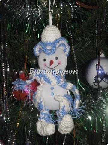 Снеговик друг Деда Мороза