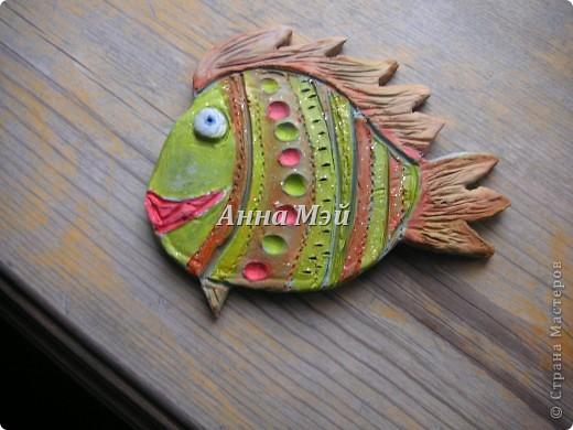 глининенная рыбка