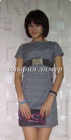 платье и сумочка-клатч сшиты мной) фото 1