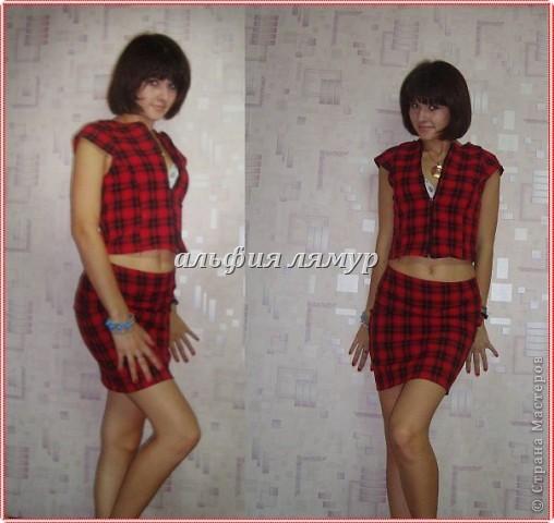 платье и сумочка-клатч сшиты мной) фото 4