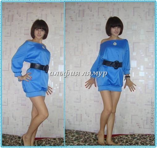 платье и сумочка-клатч сшиты мной) фото 10