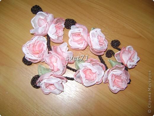 Цветы сакуры своими руками фото