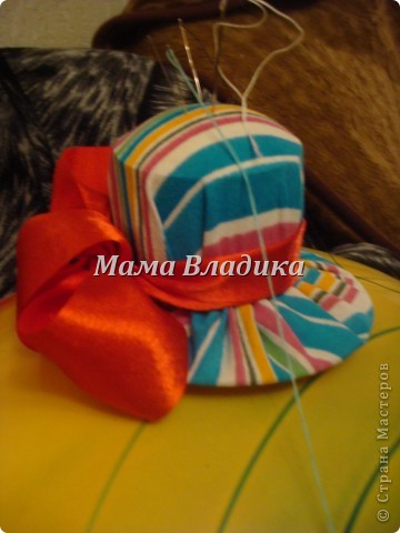 Шляпка-игольница-повторюшка фото 1
