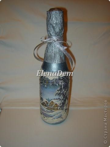 Домик в лесу. Бутылка  фото 4