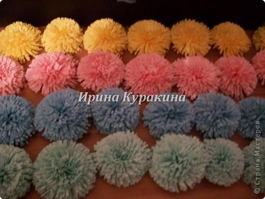 Цветочные шарики фото 6