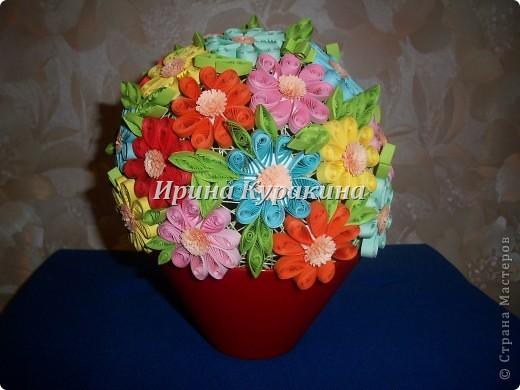 Цветочные шарики фото 4