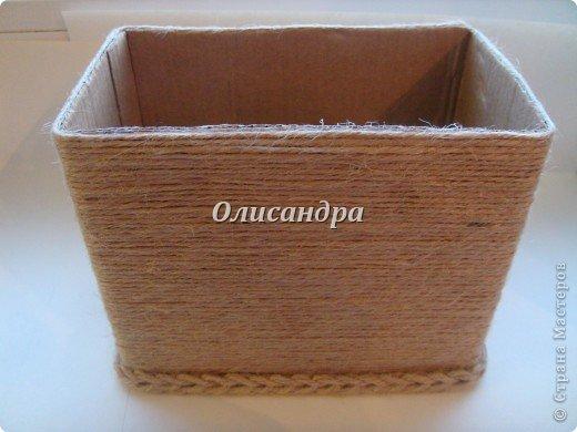 Вот такую коробочку для бумаг я сделала из ненужной коробки... Как это начиналось можно посмотреть здесь... https://stranamasterov.ru/node/141514 фото 5