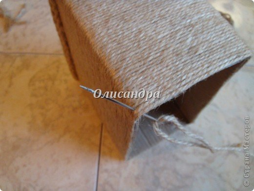 Вот такую коробочку для бумаг я сделала из ненужной коробки... Как это начиналось можно посмотреть здесь... http://stranamasterov.ru/node/141514 фото 8