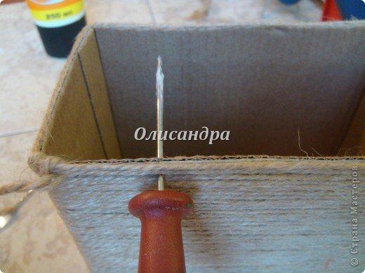 Вот такую коробочку для бумаг я сделала из ненужной коробки... Как это начиналось можно посмотреть здесь... http://stranamasterov.ru/node/141514 фото 9