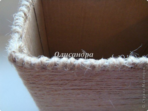 Вот такую коробочку для бумаг я сделала из ненужной коробки... Как это начиналось можно посмотреть здесь... http://stranamasterov.ru/node/141514 фото 10