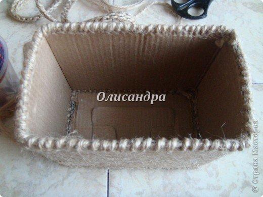 Вот такую коробочку для бумаг я сделала из ненужной коробки... Как это начиналось можно посмотреть здесь... https://stranamasterov.ru/node/141514 фото 14