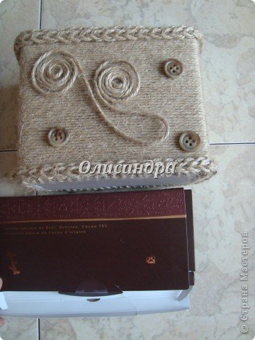 Вот такую коробочку для бумаг я сделала из ненужной коробки... Как это начиналось можно посмотреть здесь... http://stranamasterov.ru/node/141514 фото 16