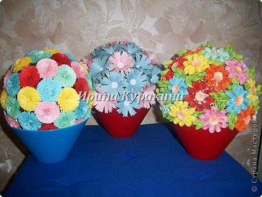 Цветочные шарики фото 1