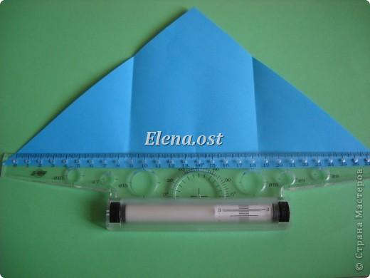 Конверт-оригами для маленькой  открытки. Украшаем цветами в технике квиллинг. При копировании статьи, целиком или частично, пожалуйста, указывайте активную ссылку на источник! http://stranamasterov.ru/user/9321 http://stranamasterov.ru/node/142138 фото 7