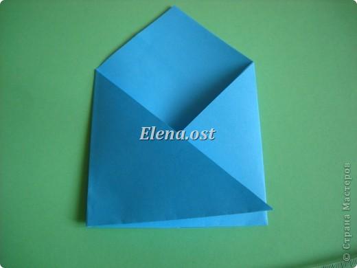Конверт-оригами для маленькой  открытки. Украшаем цветами в технике квиллинг. При копировании статьи, целиком или частично, пожалуйста, указывайте активную ссылку на источник! http://stranamasterov.ru/user/9321 http://stranamasterov.ru/node/142138 фото 9