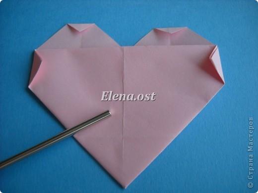 Конверт-оригами для маленькой  открытки. Украшаем цветами в технике квиллинг. При копировании статьи, целиком или частично, пожалуйста, указывайте активную ссылку на источник! http://stranamasterov.ru/user/9321 http://stranamasterov.ru/node/142138 фото 23