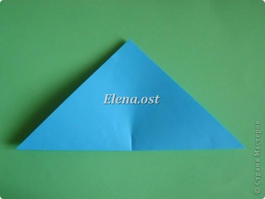 Конверт-оригами для маленькой  открытки. Украшаем цветами в технике квиллинг. При копировании статьи, целиком или частично, пожалуйста, указывайте активную ссылку на источник! http://stranamasterov.ru/user/9321 http://stranamasterov.ru/node/142138 фото 6