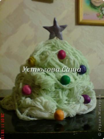 хотела я сделать снеговика http://stranamasterov.ru/node/25926?tid=451 но увы я не до конца проклеила и они у меня стали мягкими смотрите дальше как я делала-----> фото 6