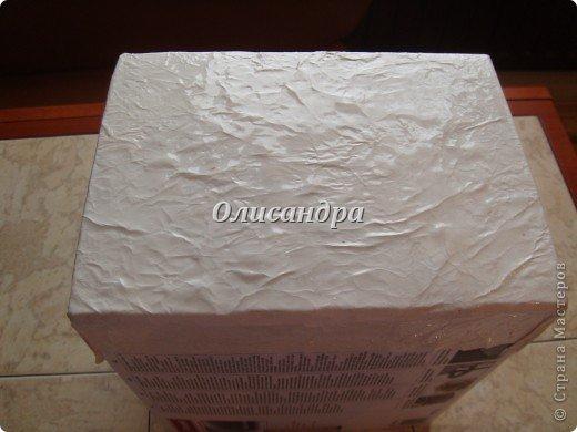 Была бы коробочка, а что в нее положить, всегда найдется... Одну уже сделала...   http://stranamasterov.ru/node/141514 ...и решила не останавливаться на достигнутом :)) Правда, шпагат закончился, но я вовремя нашла идею у Валентины из РОСТОВА ... Вместо шпагата можно использовать обычную пряжу... Ну, уж чего-чего, а пряжи у меня достаточно... фото 15