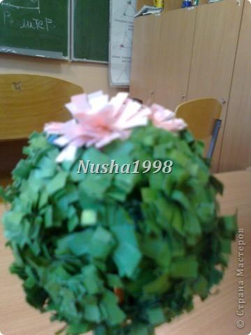 делали с подружкой=))))) наше деревце))) фото 2