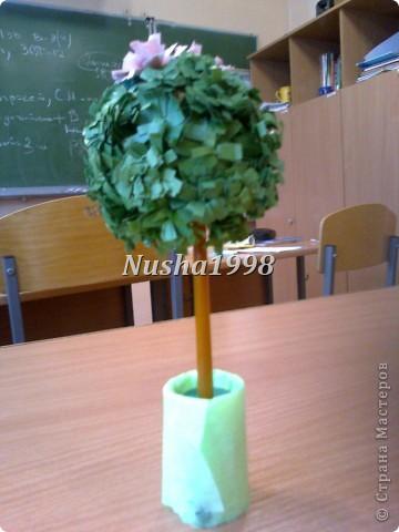 делали с подружкой=))))) наше деревце))) фото 1