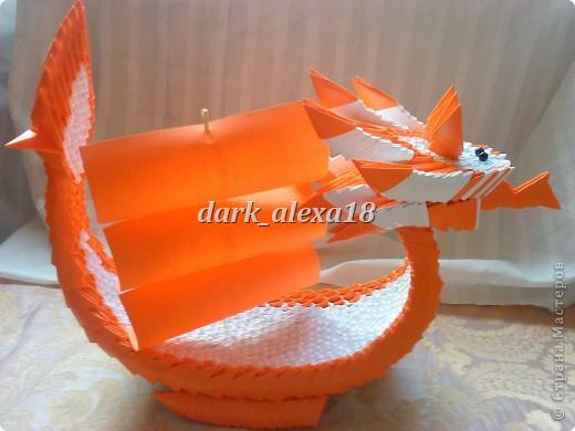 Оригами модульное фото 8