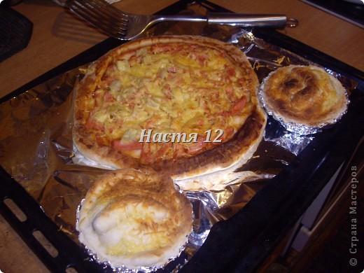 Вчера опять радовала папу и маму на этот раз пиццей.  фото 2
