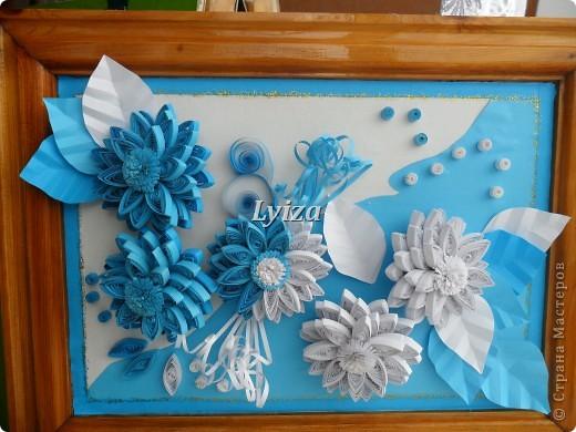 Цветы...Из хрусталя, алмазов и сапфиров. фото 1