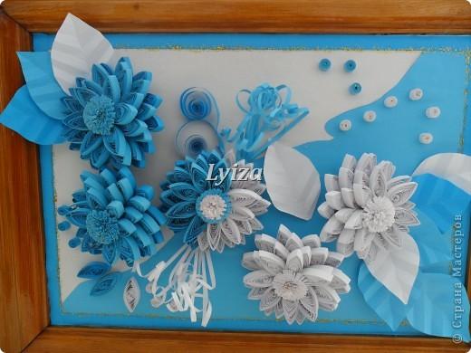 Цветы...Из хрусталя, алмазов и сапфиров. фото 2