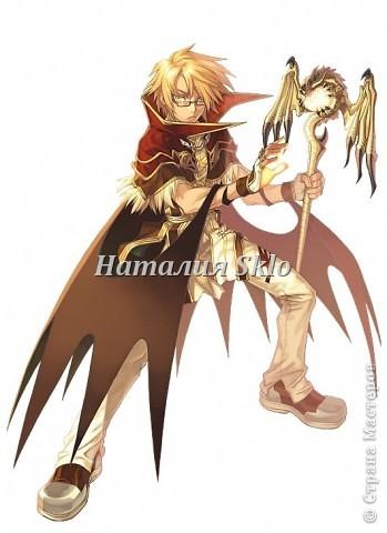 Персонаж из японского мультика :-) фото 1