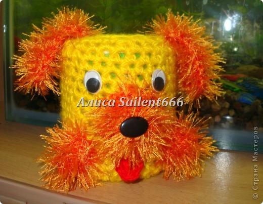 Карандашницы (игрушки вязанные) фото 7