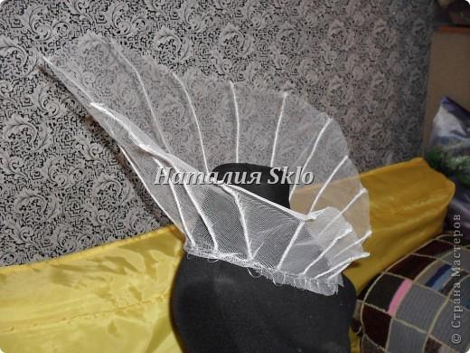 Вот такой вот воротник для суровой Снежной Королевы :-) фото 5