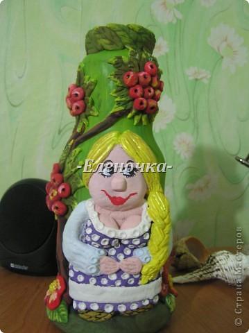 """Бутылка """"Лето в деревне"""")))"""