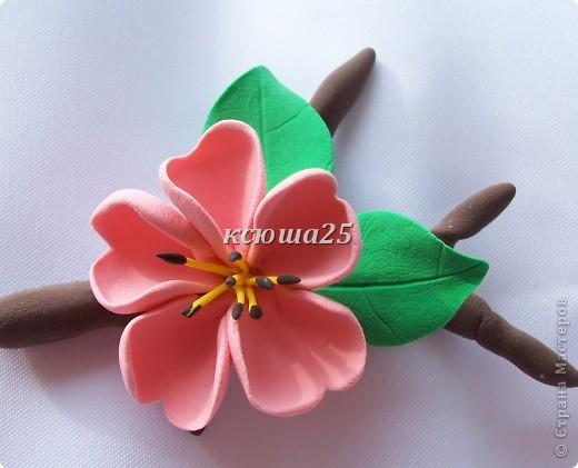 вот мой новый цветик,так нравиться,пока что он применение не нашел,только в стадии разработки)))Сейчас я леплю их много и планирую кое -что собрать....... фото 1