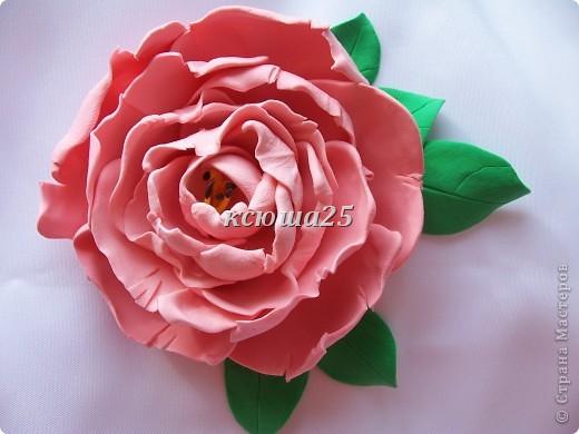 вот мой новый цветик,так нравиться,пока что он применение не нашел,только в стадии разработки)))Сейчас я леплю их много и планирую кое -что собрать....... фото 4