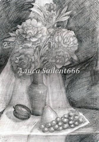 Рисунки карандашом фото 10