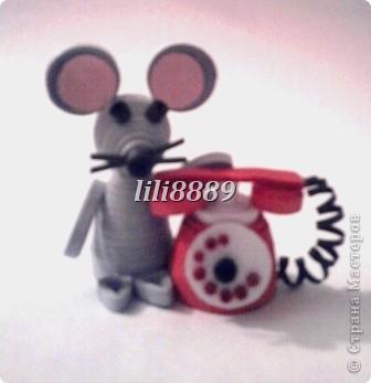 Девчёнка и мышка=)) фото 2