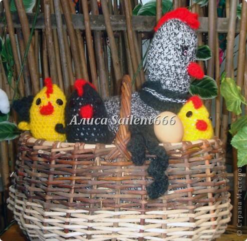 Курица и петух фото 1