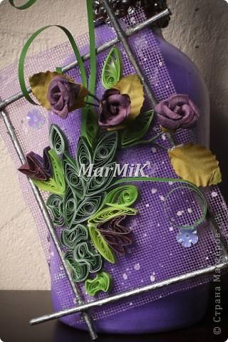 Цветок из бумажной бечевки фото 7