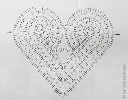 Скатерть Валентинка Для начала представьте какой будет скатерть, сколько сердечек Вы хотите разместить. На моей скатерти 6 сердечек в центре и по одному на каждом углу, итого 10 сердечек. фото 2