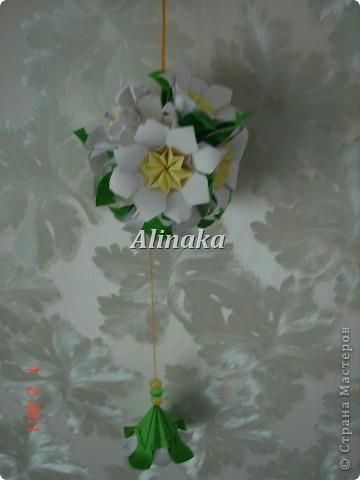 """Кусудама """"Весна"""" фото 3"""