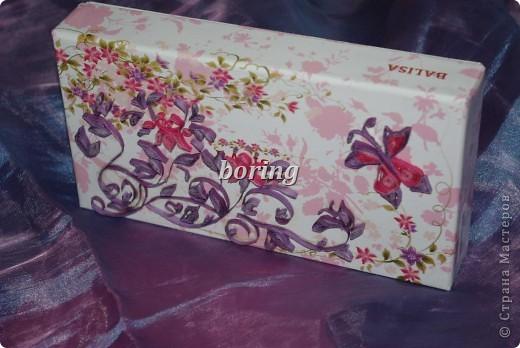 Вот такая коробочка для подарка). фото 2