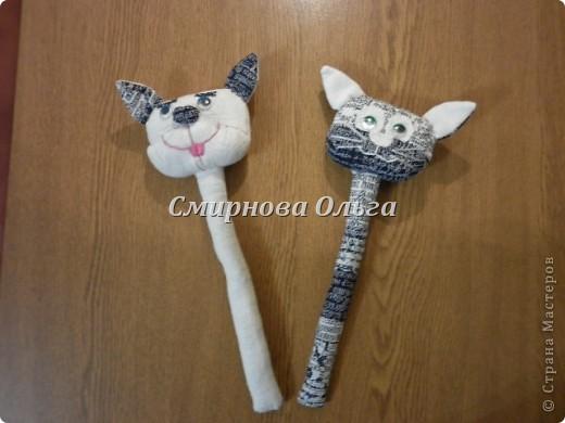 Этих котиков я подарю сыну и его девушке на День Влюблённых. фото 11