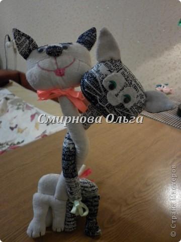 Этих котиков я подарю сыну и его девушке на День Влюблённых. фото 15